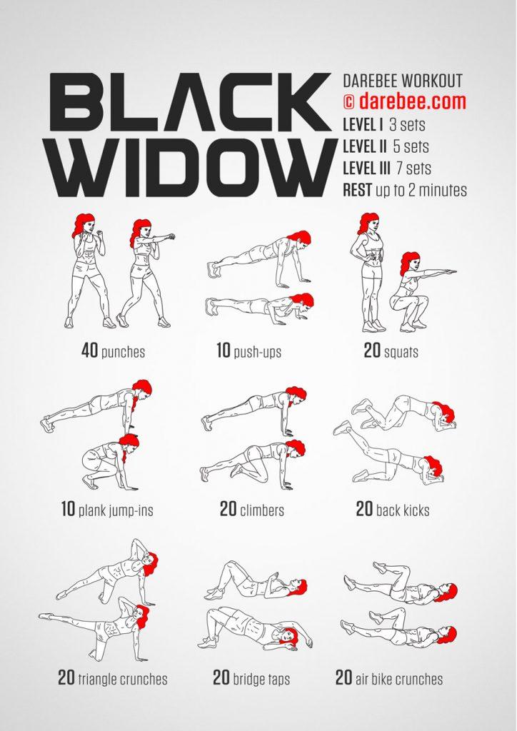 OMG Fitness - Black Widow Training