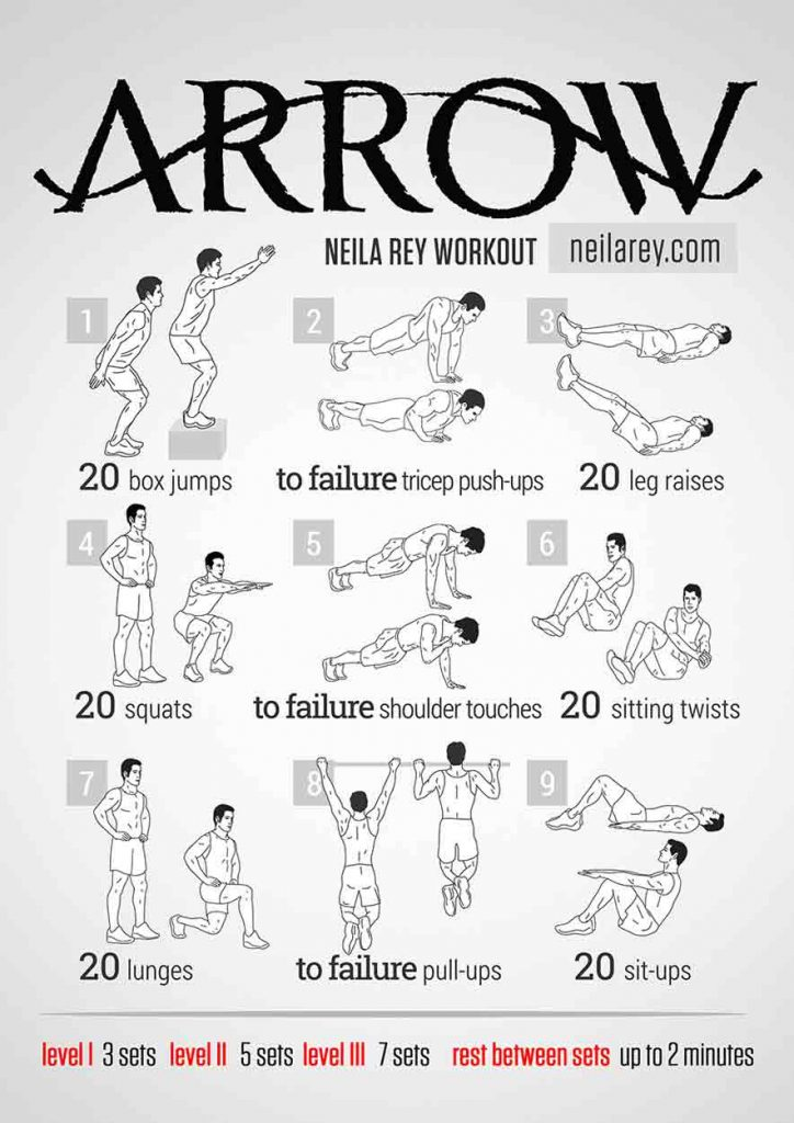 OMG Fitness - Arrow Training